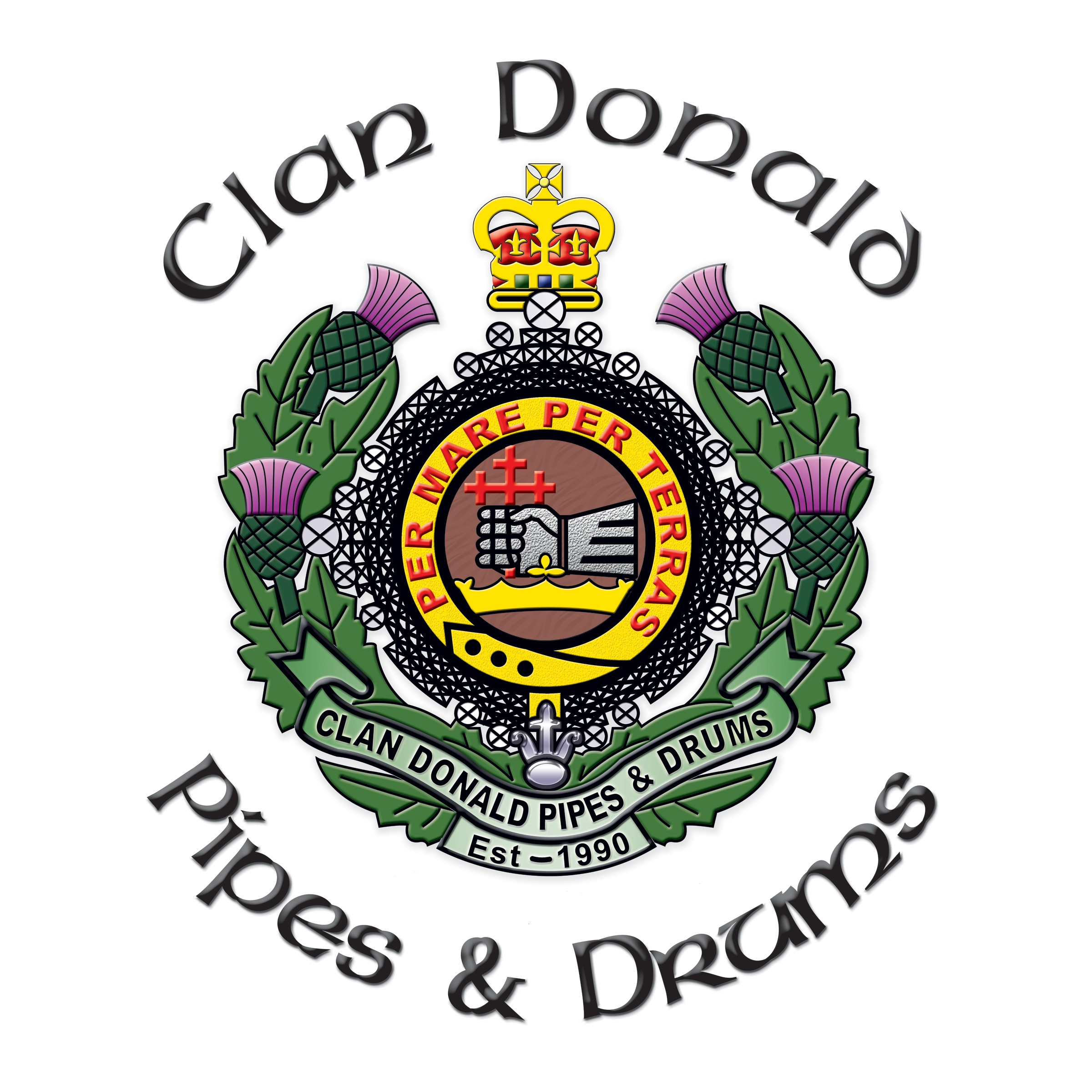 Clan Donald Pipes and Drums
